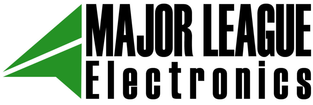 major league electronics logo